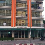 View of Laong's from opposite side of Jomtien 2nd road