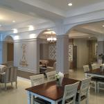 Inside the Bistro area of Laong's