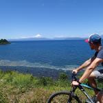 Biking to Frutillar