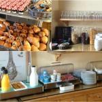 Le petit-déjeuner Eden Park Hotel