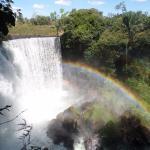 Arco-íris na Cachoeira da Fumaça