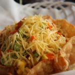 A really yummy Meze Salad,