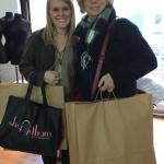 mother and daughter on garment Center tour