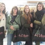 Shoppers on Garment Center tour
