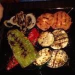 parrillad de verduras