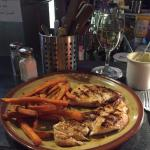 Grilled Chicken, Sweet Potato Fries, and Soup of the Day!