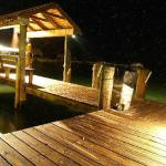 Our dock at night
