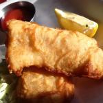 Fish + Chips | Beer battered cod, house tartar, coleslaw