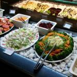 saladas e frios
