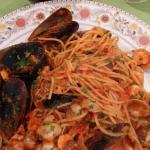 Spaghetti Frutte de Mare