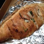 Medium veggie stromboli