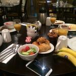 breakfast was really lovely