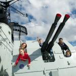 Onboard HMAS Vampire at the Maritime Museum