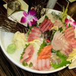 Sashimi Platter with Chu-Toro, Jack Fish, etc