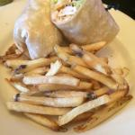 My. Fiesta chicken wrap
