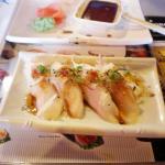 White tuna sushi, so smooth