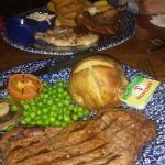 Another steak night.