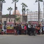 Vendors outside