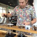 Getting fresh pour-overs at 3rd Street location, Jacksonville Beach