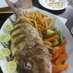 great fresh fish lunch