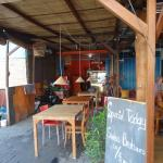 Inside the warung