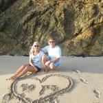 Celebrating our 40th Wedding Anniversary at the beach