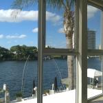 View from apartment 207 overlooking the Intracoastal Waterway