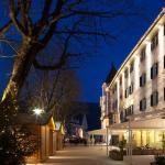 Außenbereich Hotel Corso mit Weihnachtsmarkt