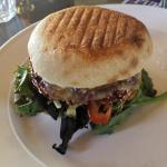 Purple Possum Burget, best vege burger ever eaten