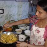 Cookery lesson- fantastic veggie food