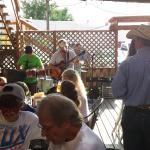 live music on the patio.
