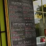 The 2012 menu