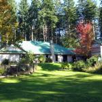 Garden view of Auberge de Seattle