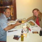 A great anniversary dinner!