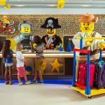 Check-in with your favorite LEGO Characters!