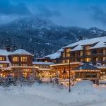 Nita Lake Lodge in winter