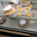 Pies.  Think they are freezer products.