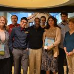 Levar Burton tapes a Reading Rainbow episode at the library