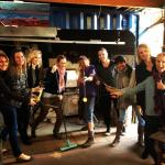 Gerry's angels - Blow Your Own Bauble group hot glass experience at Melting Pot Glass Studio