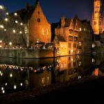 Bruges during Christmas time