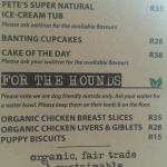 """For the Hounds"" selection on menu"