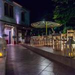 Nea Marina Rhodes Restaurant Rhodes Outside