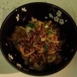 "Signature dish of Saigon Vietnamese Restaurant ""Salty garlic Pork """