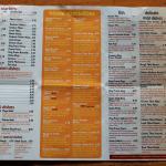 take away menu - page 1
