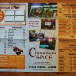 take away menu - page 2