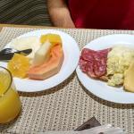 òtimo café da manhã!