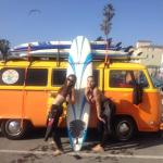 Surfing with Kapowui in Venice Beach