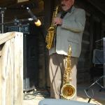 Ace Cannon at the Dogtrot Rockabilly Festival