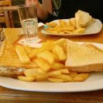 Toastie & chips!