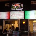 Our amazing menu!